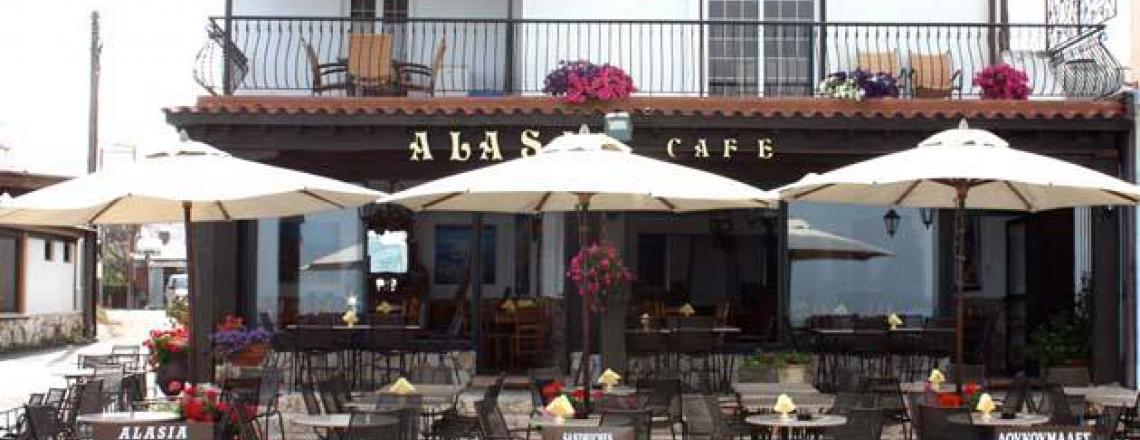 Alasia Cafe, кафе «Аласия» в Ларнаке
