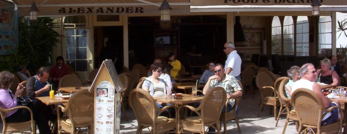 Alexander, ресторан «Александр» в Ларнаке