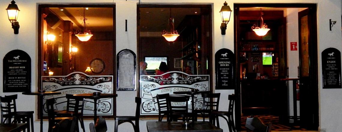 Английский паб The Wild Horse Pub в Пафосе