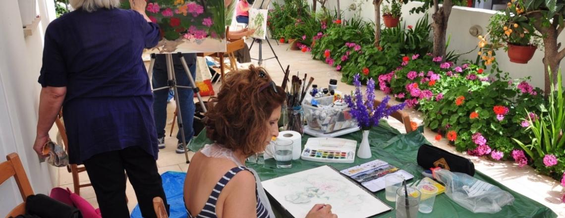 Art Studio Nicholas Panayi, drawing lessons in Nicosia