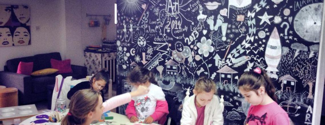 ArtSpect, «Артспект», мастер-классы по рисованию и лепке для детей, Лимассол