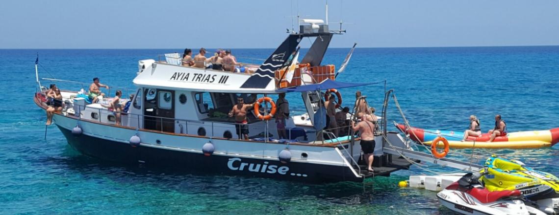 Ayia Trias Cruise, круизы в Паралимни