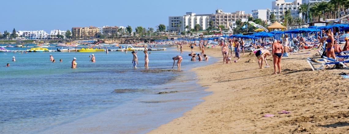 Louma Beach, пляж Louma в Протарасе