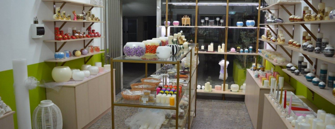 Candle Light by Kavazis, магазин свечей ручной работы в Старом Городе, Лимассол