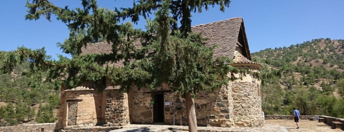Церковь Пресвятой Богородицы Асину, Никитари, Троодос, Никосия