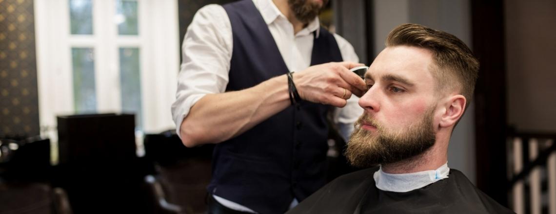 """Cosmos"" Barbershop in Larnaca"