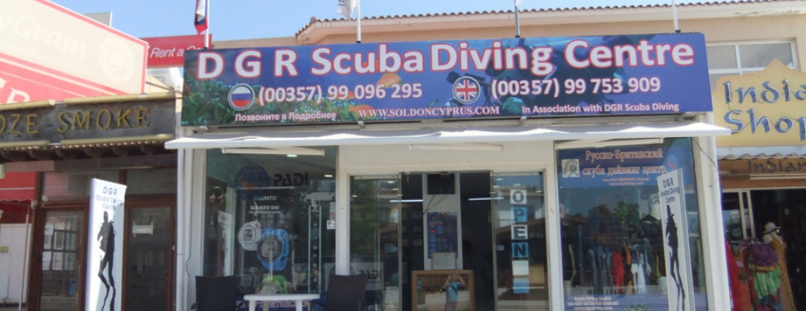 DGR Scuba Diving, Protaras