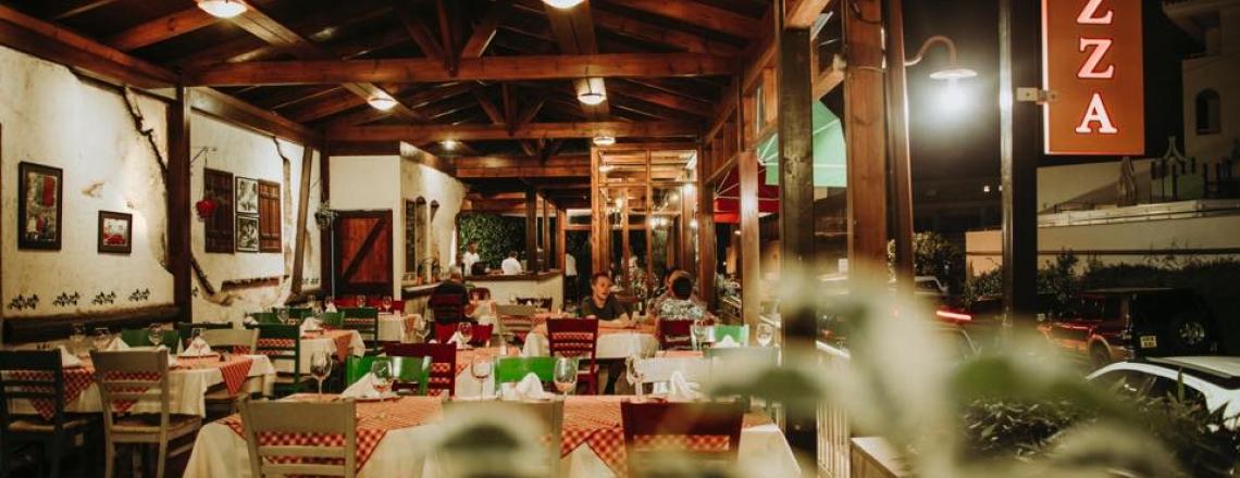 Don Luigi's Trattoria Pizzeria, пиццерия Don Luigi's в Пафосе