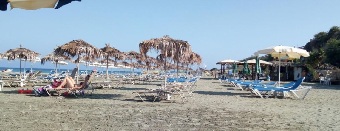 Faros Beach, пляж «Фарос» в Ларнаке