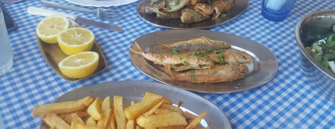 To Xefoto Fish Tavern, Zygi, Larnaca