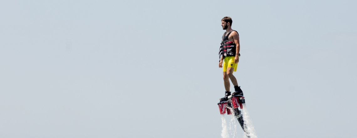 Flyboard Cyprus, флайборд в Протарасе