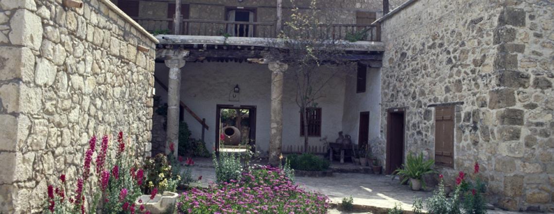 Geroskipou folk art museum, Paphos