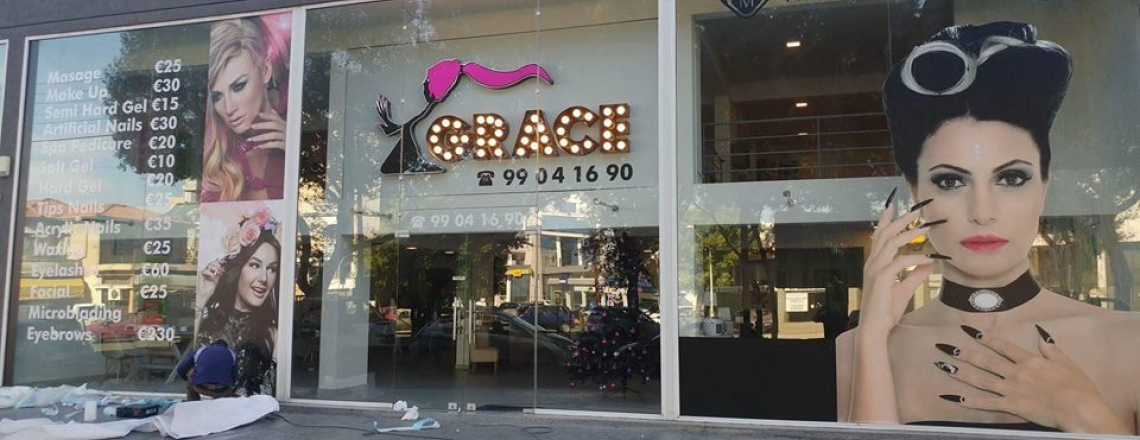 Grace Nail and Beauty Salon in Limassol