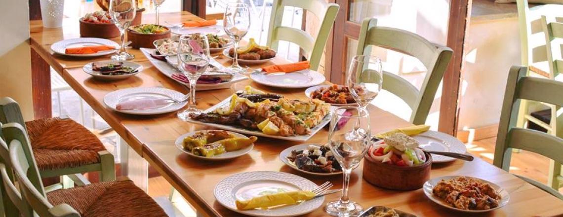 Греческий ресторан Guest mezebar в Лимассоле