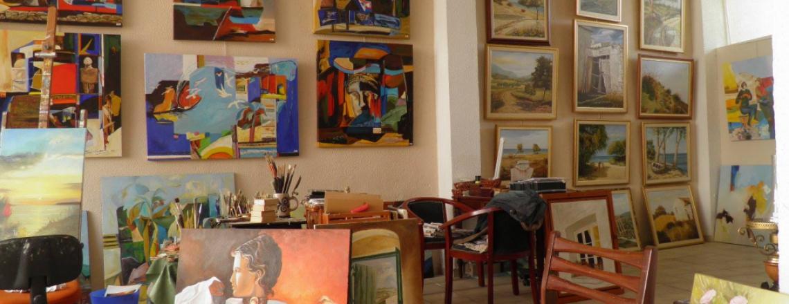 Художественная галерея «Ренос», Renos Art Gallery, Лимассол