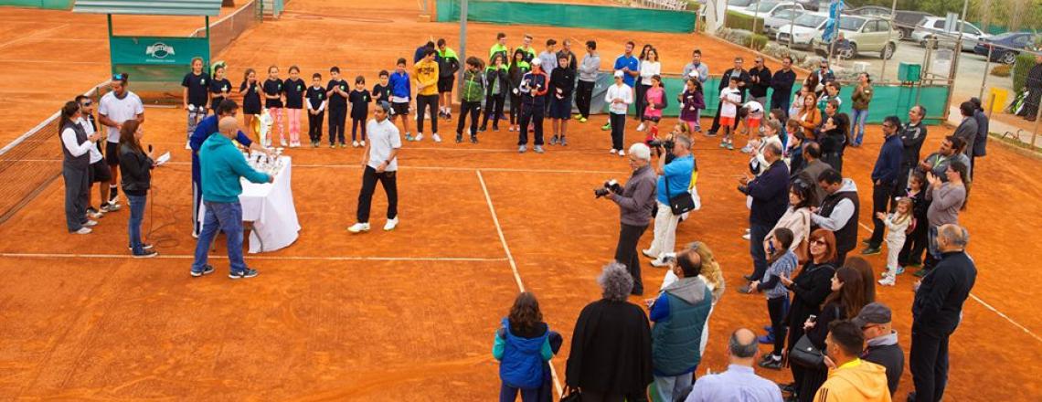 Ioannides Tennis Academy in Limassol