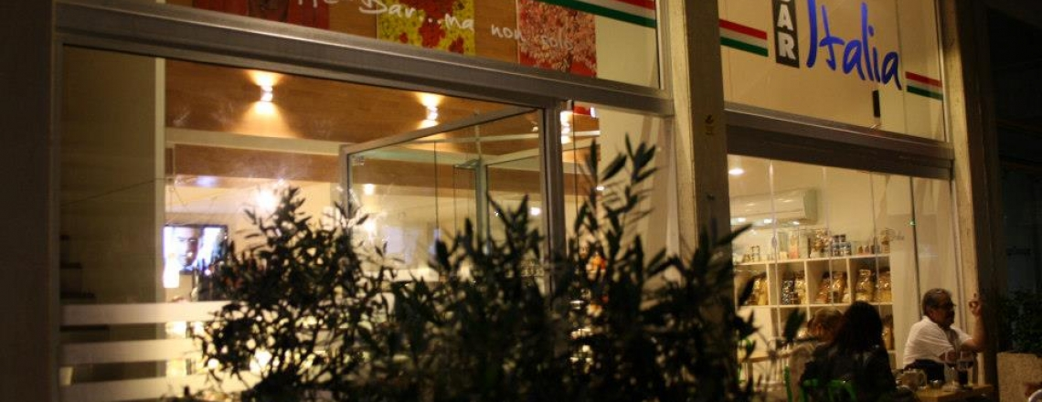 Итальянский ресторан Bar Italia в Никосии
