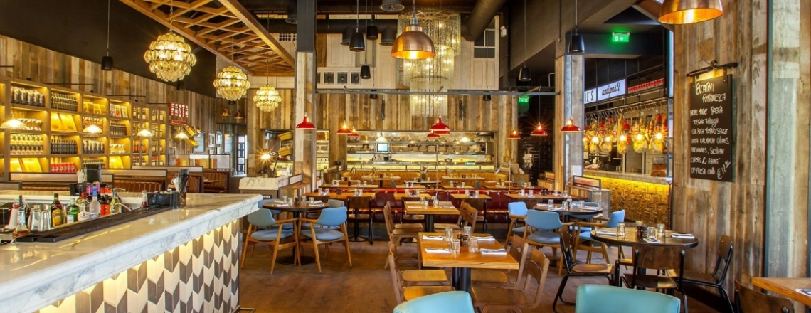 Jamie's Italian Nicosia, ресторан Джейми Оливера в Никосии
