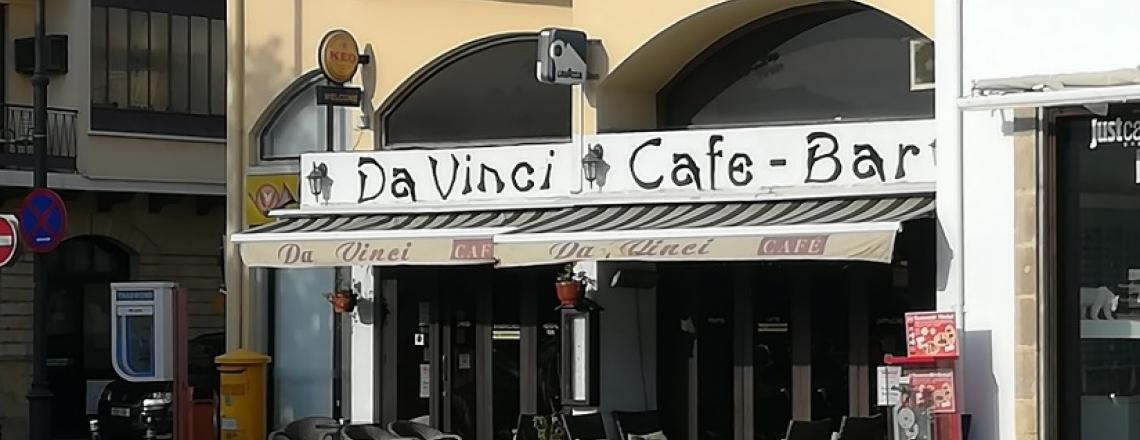 Кафе Da Vinci Cafe в Ларнаке