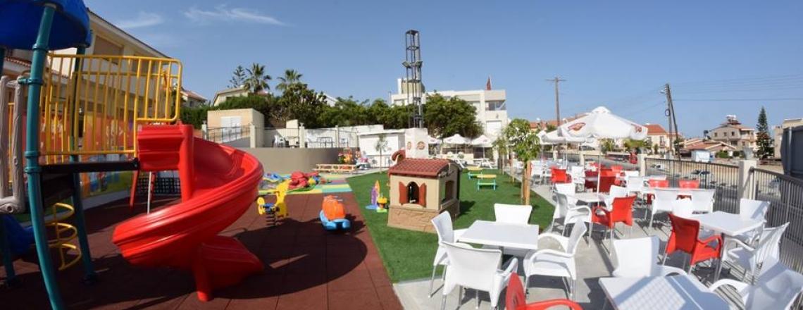 Gevsi Online café and an amusement park in Limassol
