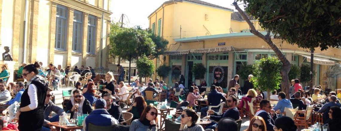Tria Fanaria Café in Nicosia