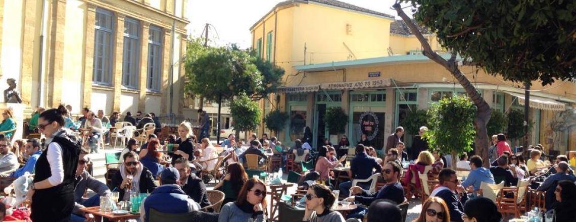 Кафе Tria Fanaria в Никосии