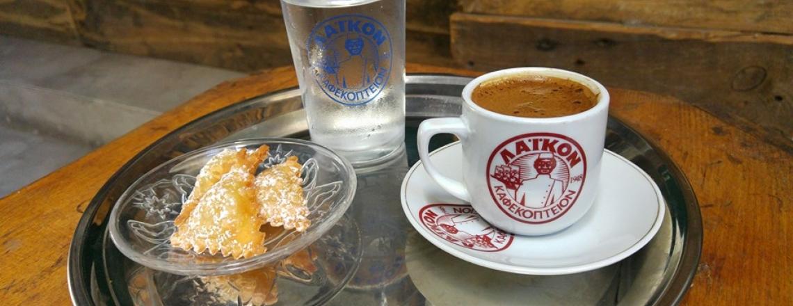 Кипрское кафе Kaimaki Kafeneio в Лимассоле
