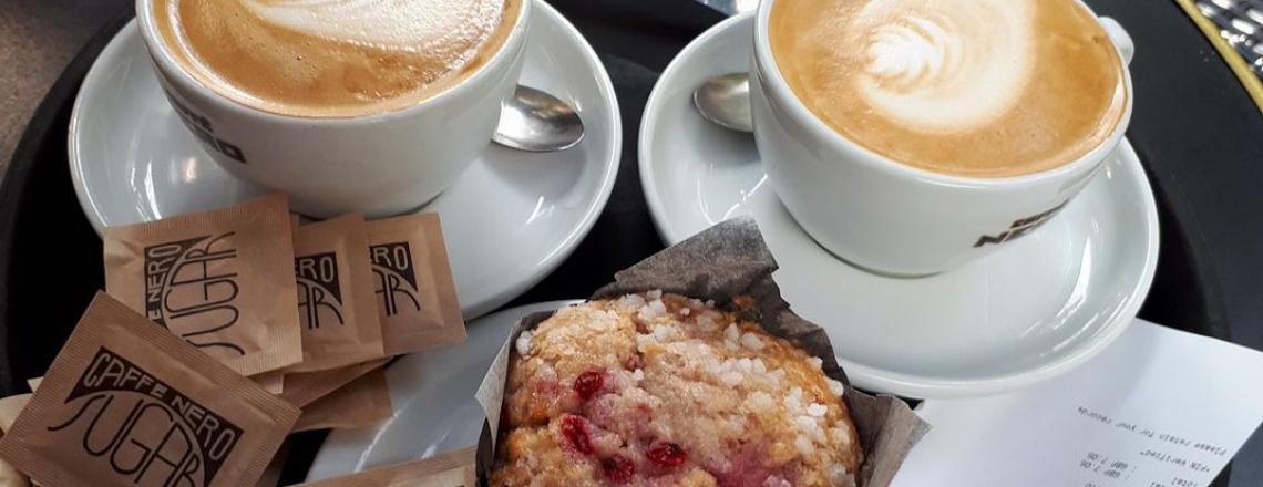 Кофейня Caffe Nero в Лимассоле