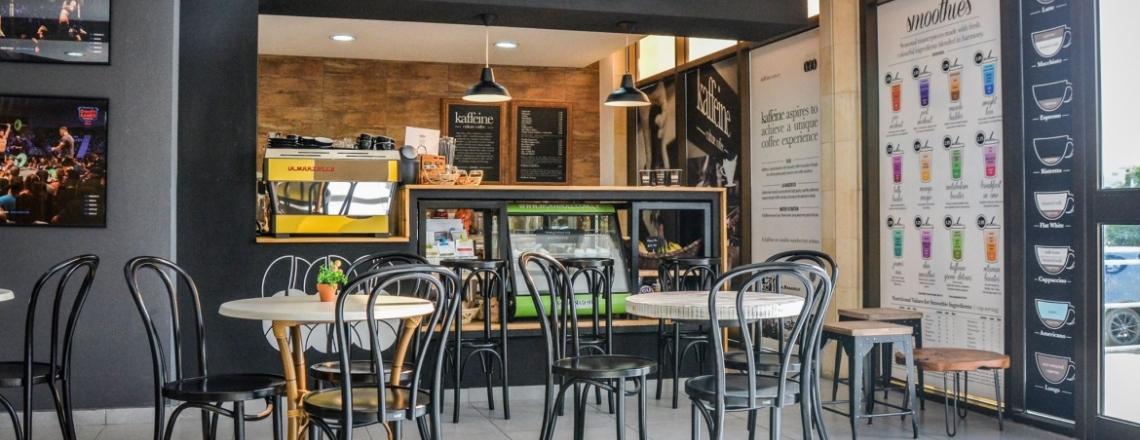 Кофейня Kaffeine в Лимассоле