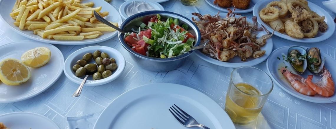 Koumbaris Fish Tavern, Zygi, Larnaca