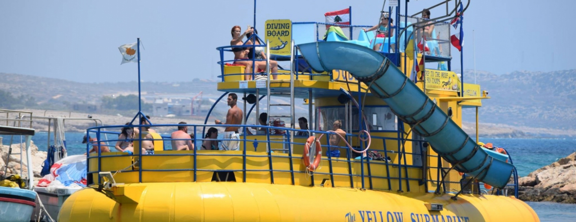 Yellow Submarine —Boat Trips, Ayia Napa | Cyprus For Travellers