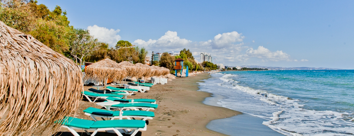 Loures Beach in eastern Limassol