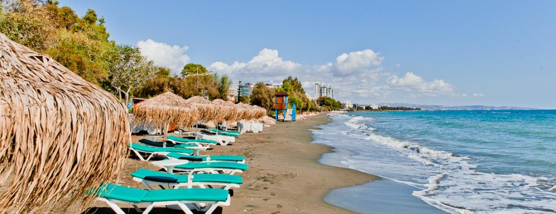 Kalymnos Beach in eastern Limassol