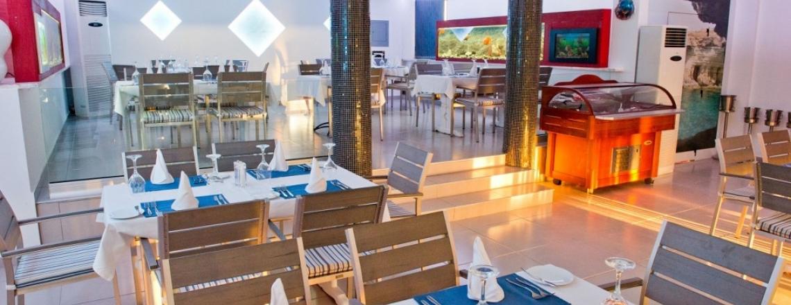 Mermaid Restaurant, рыбный ресторан Mermaid в районе Coral Bay в Пафосе
