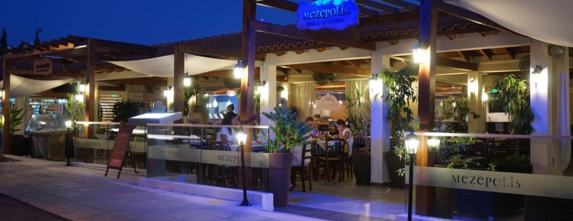 Mezepolis Kebab and Tavern, ресторан Mezepolis в Айя-Напе