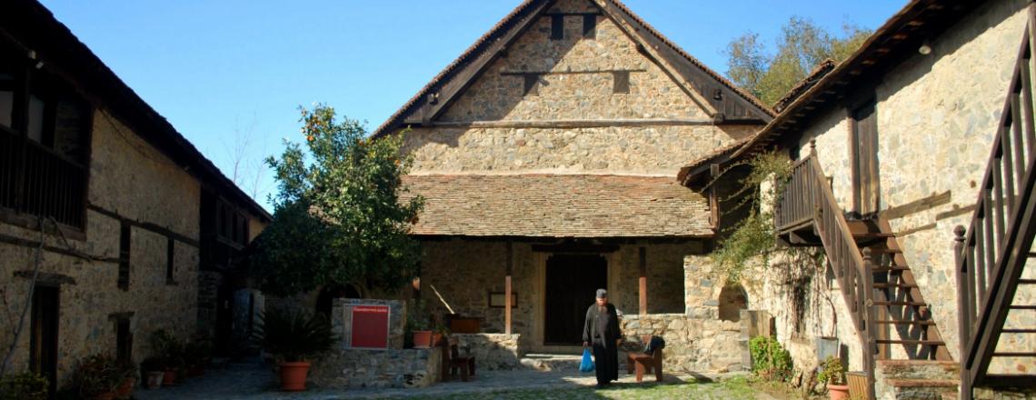 Agios Ioannis Lambadistis Monastery at Kalopanayiotis