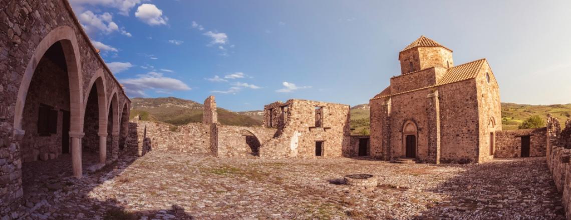 Монастырь Богородицы Синти в Пафосе