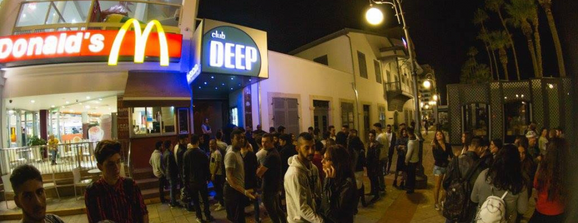 Ночной клуб Deep в Ларнаке