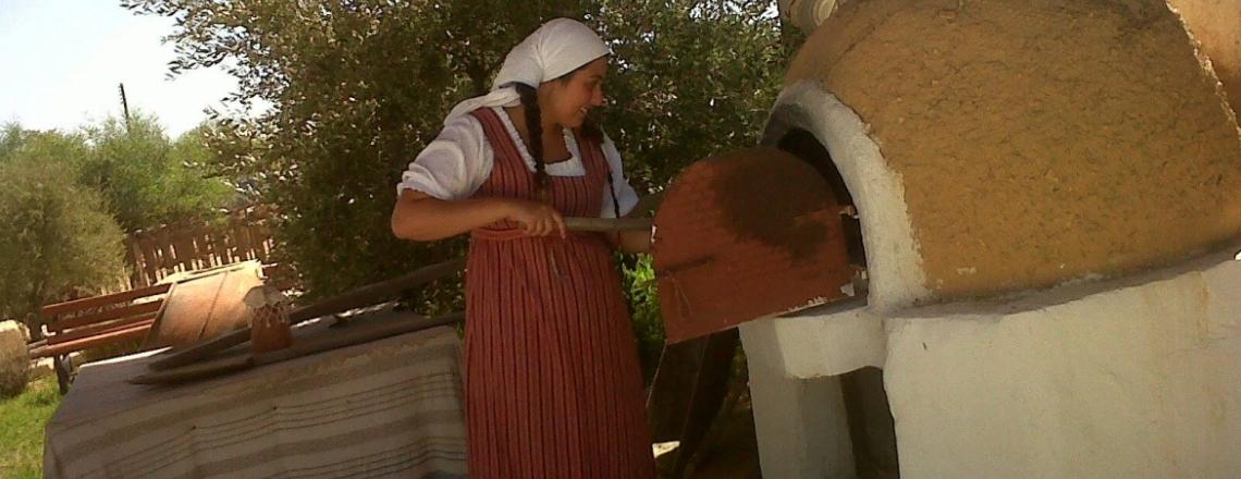 Оливковая роща, музей и ресторан «Олеастро», Аногира, Лимассол