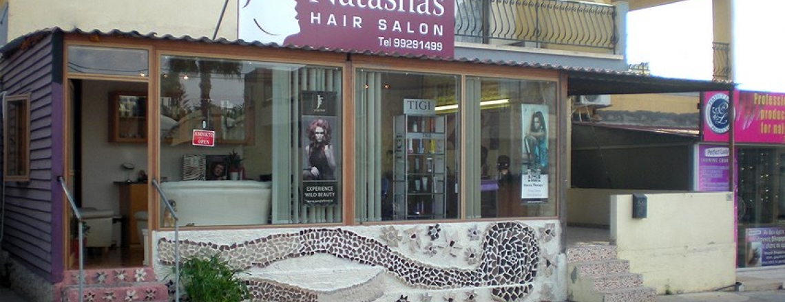 Natasha's Hairdressers in Ayia Napa