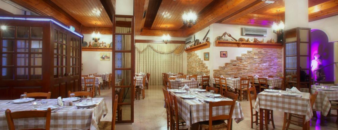 Kalamies Tavern, кипрская таверна «Камыши» в Никосии