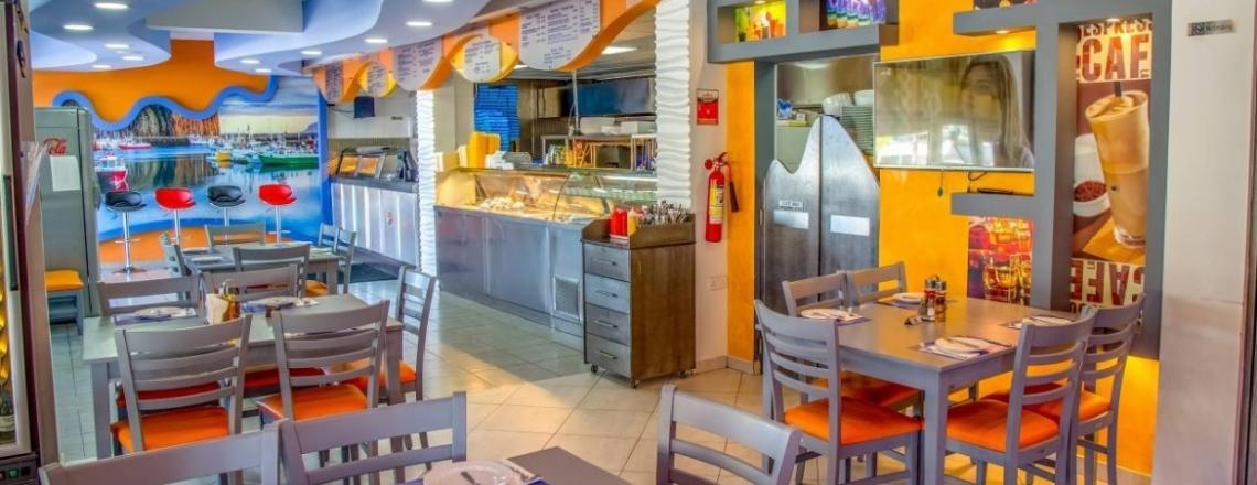 Ресторан Fish Chick Island в Ларнаке
