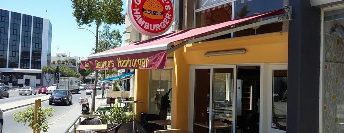 Ресторан George's Hamburger в Лимассоле
