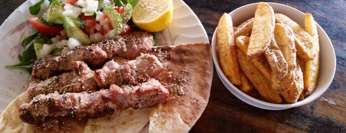 Ресторан греческой кухни Souvlaki tou Pasa в Никосии