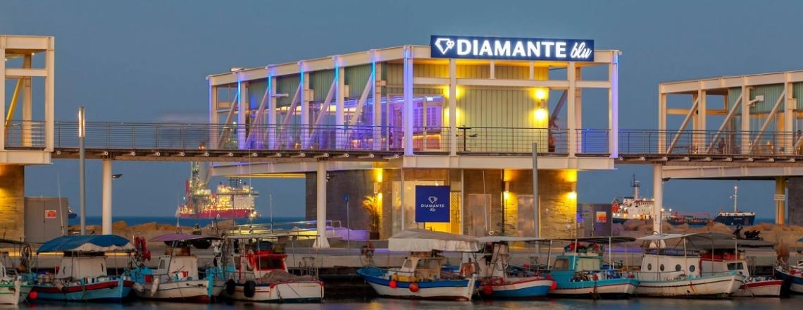 Ресторан и лаундж-бар Diamante blu в Лимассоле