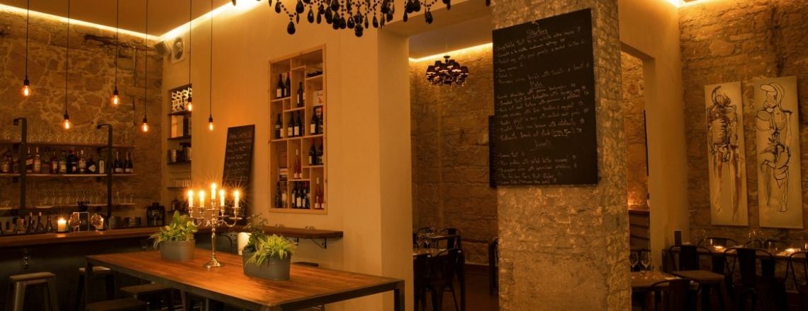 Ресторан и винный бар Atelier в Никосии