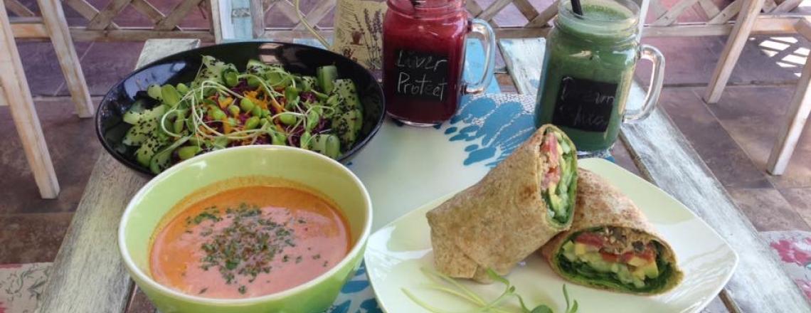 Ресторан органической кухни Superfood Organic Bar в Лимассоле