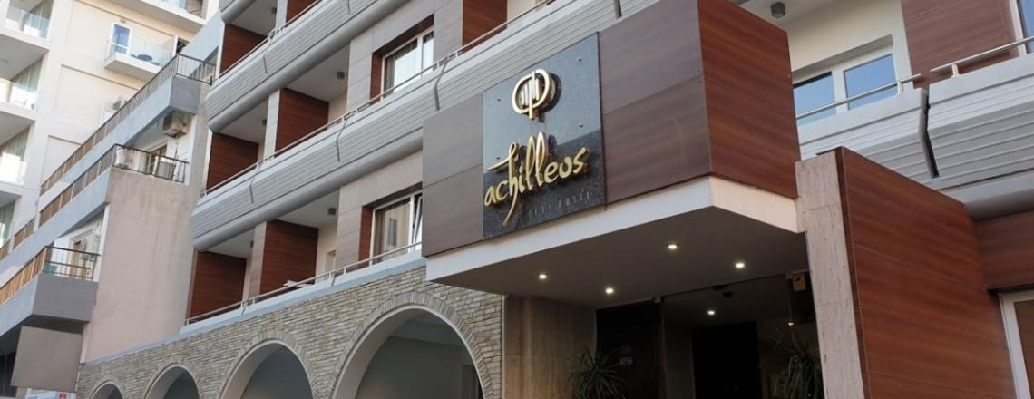 Ресторан в отеле Achilleos City Hotel в Ларнаке