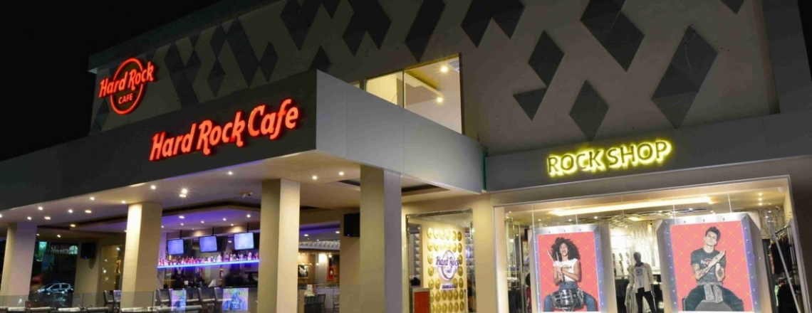 Рок-бар Hard Rock Cafe в Айя-Напе