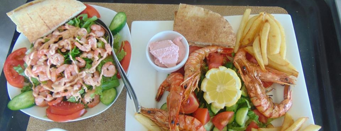 Sea Caves Lounge Bar — Cafe & Restaurant, ресторан Sea Caves в Пафосе